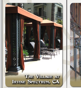 Irvine Spectrum Custom Commercial Ornamental Iron Designs