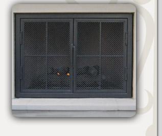 Mission Viejo Ornamental Pelican Hill Custom Ornamental Iron Designs Custom Fireplace Screens